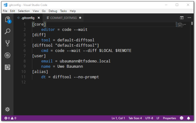 git-code-config